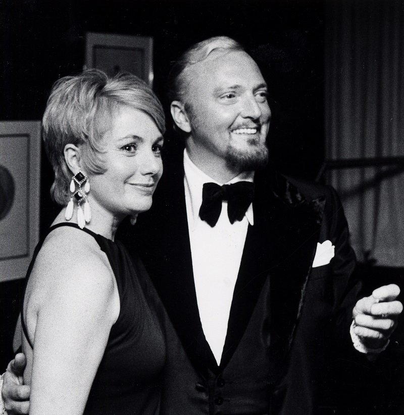 Shirley Jones and Jack Cassidy circa March 1973 at Shubert Theater in New York City | Photo: Getty Images