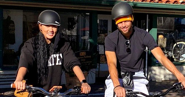 Steph Curry Shows Striking Resemblance to Son Canon as They Smile Together Wearing Trendy Caps