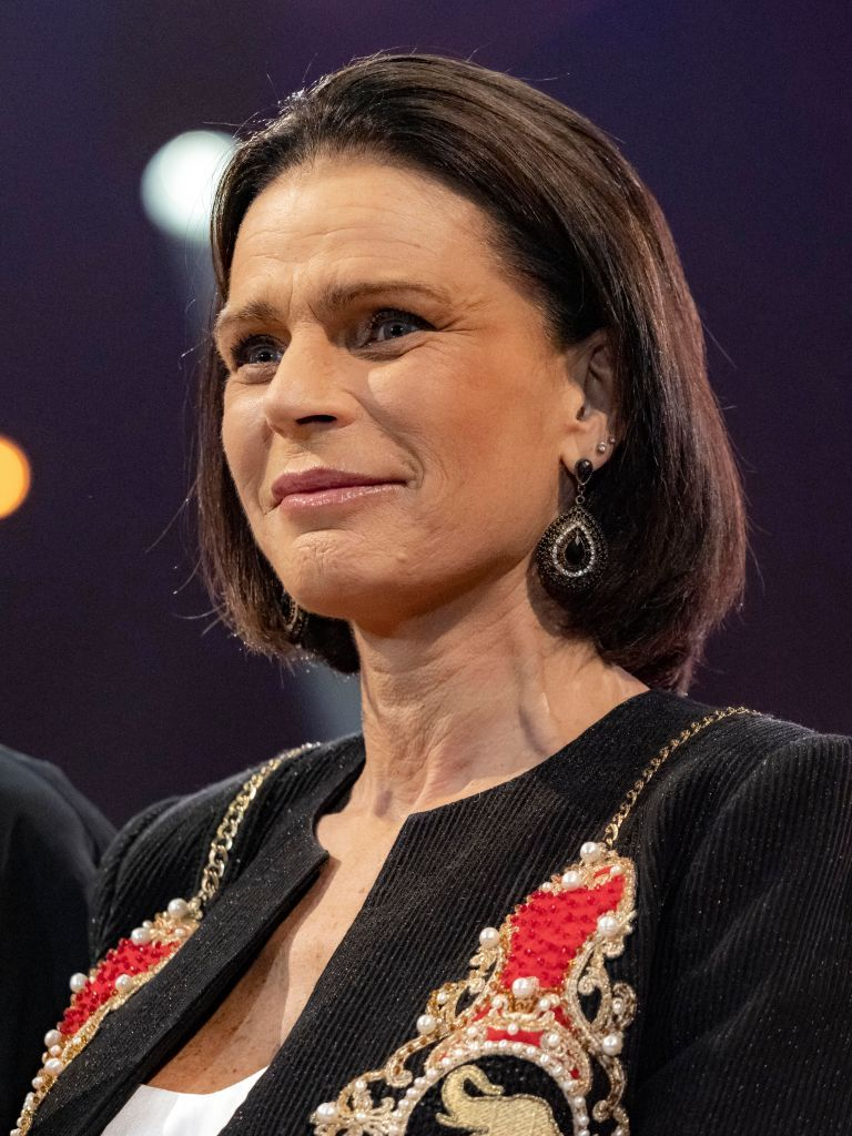 Princess Stephanie of Monaco at the 44th International Circus Festival in 2020 in Monaco | Source: Getty Images