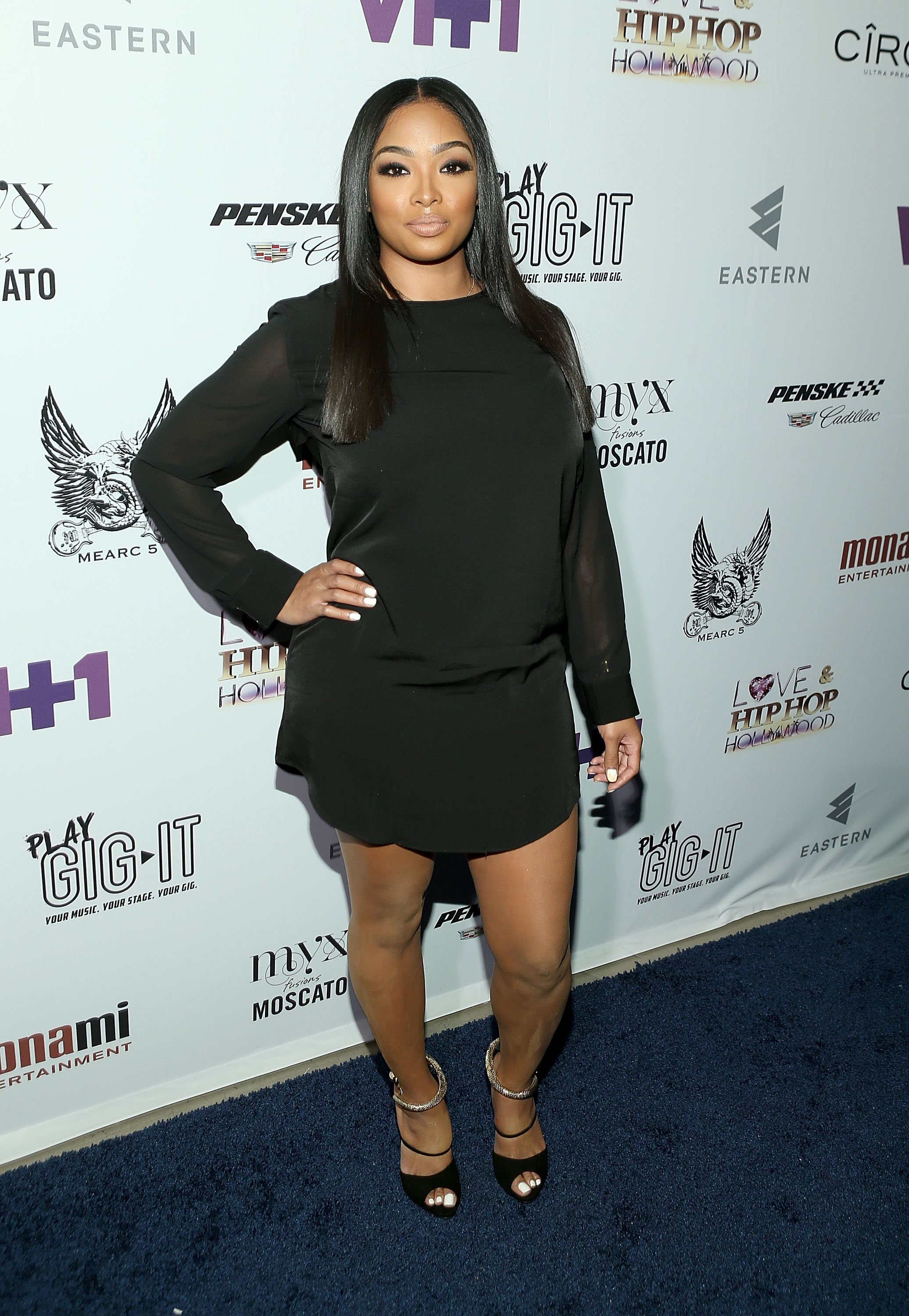"Princess Love at the ""Love & Hip-Hop Hollywood"" premiere in September 2014. 