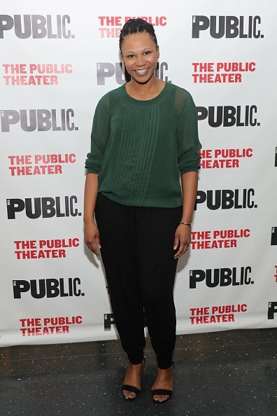 """Alana Arenas attends the """"Head Of Passes"""" opening night celebration at The Public Theater on March 28, 2016 