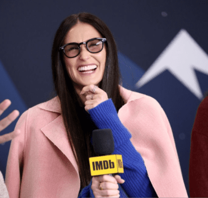 Demi Moore of Corporate Animals attends The IMDb Studio at Acura Festival Village on location at The 2019 Sundance Film Festival - Day 4 on January 28, 2019 in Park City, Utah. | Source: Getty Images
