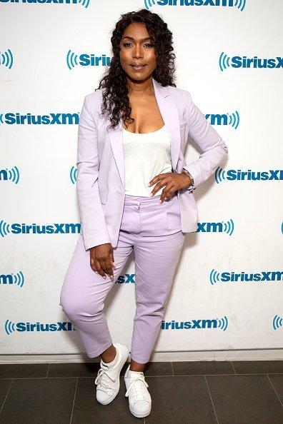 Angela Bassett visits SiriusXM Studios on July 29, 2019 in New York City | Photo: Getty Images
