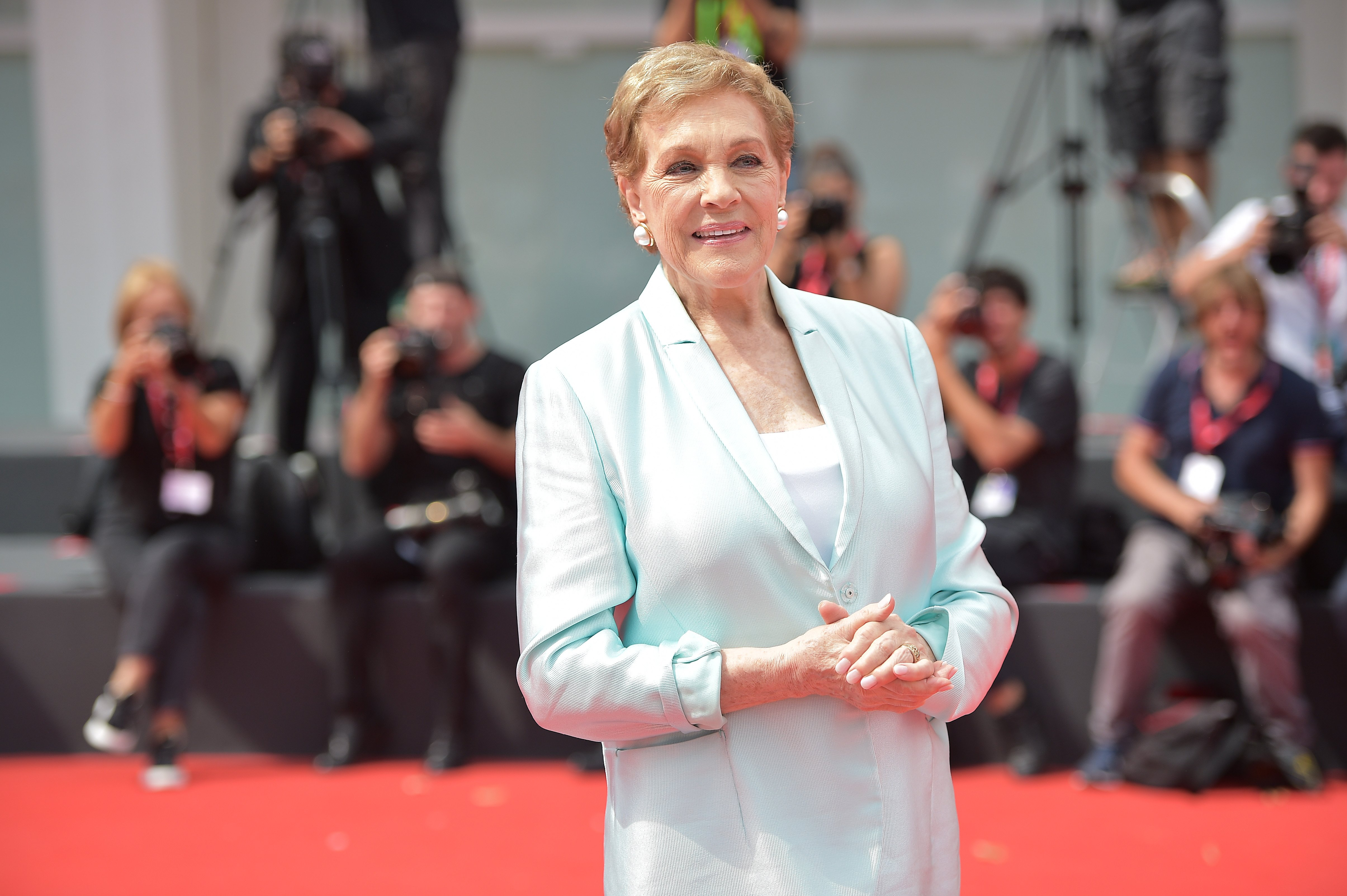 Julie Andrews attends the 76th Venice Film Festival in Italy on September 2, 2019 | Photo: Getty Images