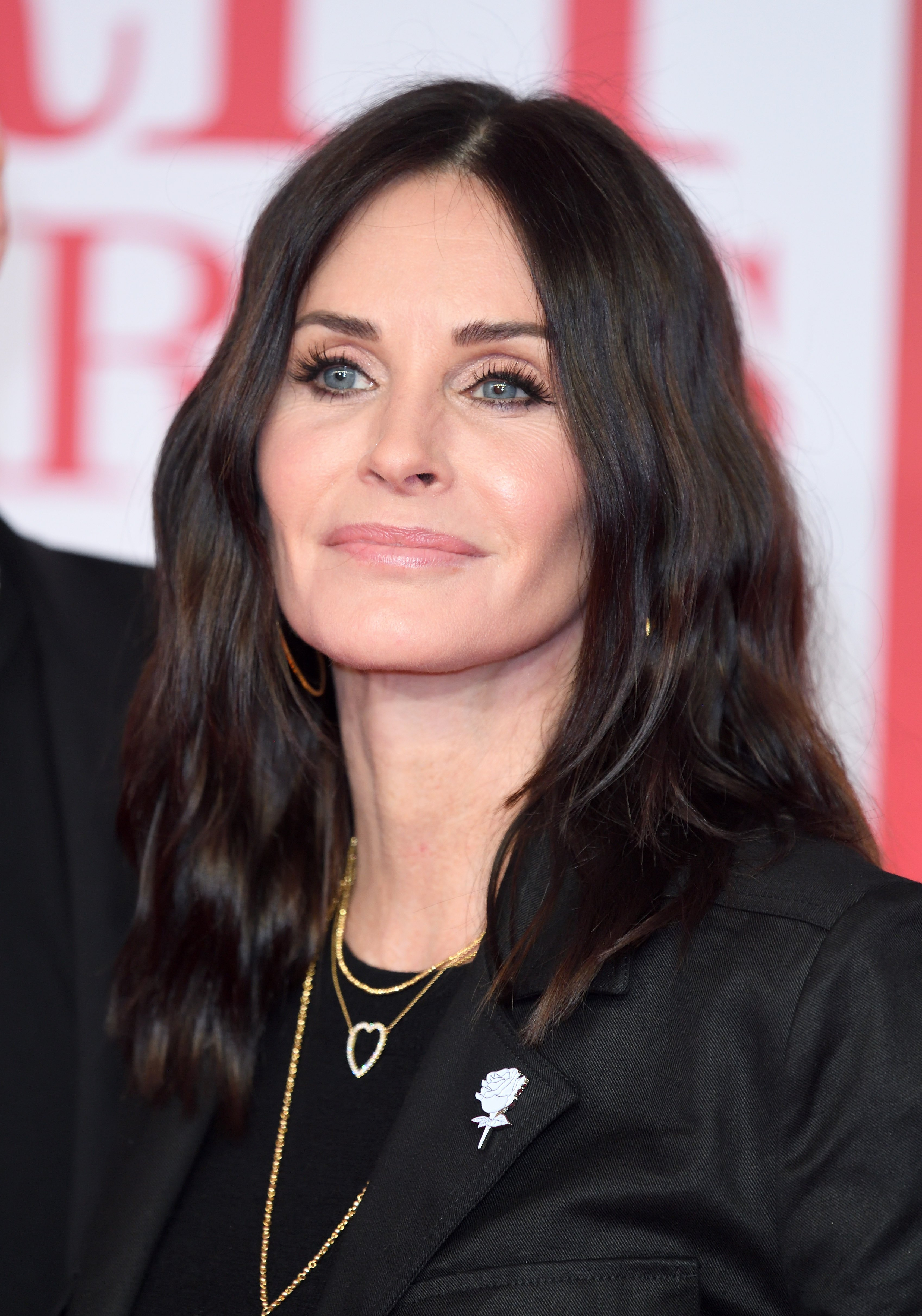 Courteney Cox attends The BRIT Awards 2018 held at The O2 Arena on February 21, 2018|Photo: Getty Images