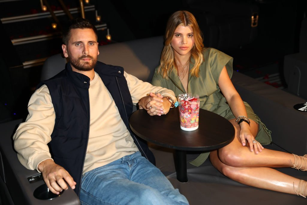 Scott Disick and Sofia Richie celebrate Valentine's Day at San Diego's new Theatre Box® Entertainment Complex with dinner at Sugar Factory American Brasserie at Theatre Box® | Photo: Getty Images