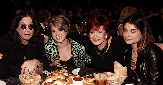 Sharon Osbourne Shares Rare Clip of Ozzy with Daughter Aimee Rubbing Sister Kelly's Head