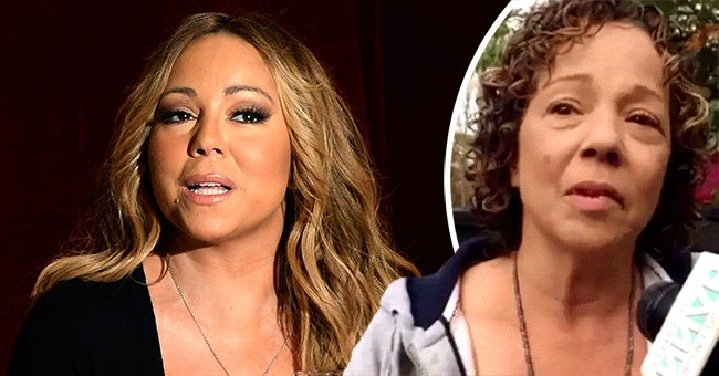 Mariah Carey and her sister Alison | Source: Getty Images, YouTube/DivaWarrior