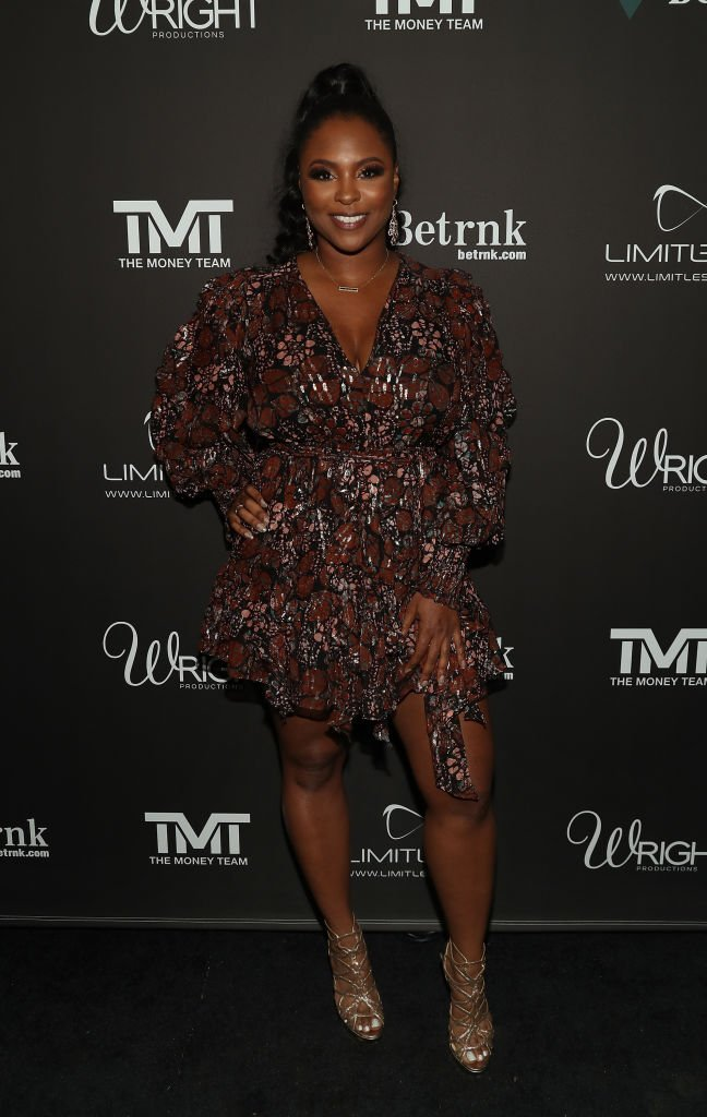Torrei Hart attends Floyd Mayweather's 43rd birthday celebration on February 21, 2020   Source: Getty Images