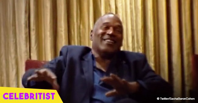 OJ Simpson laughs at joke about killing wife in bizarre footage