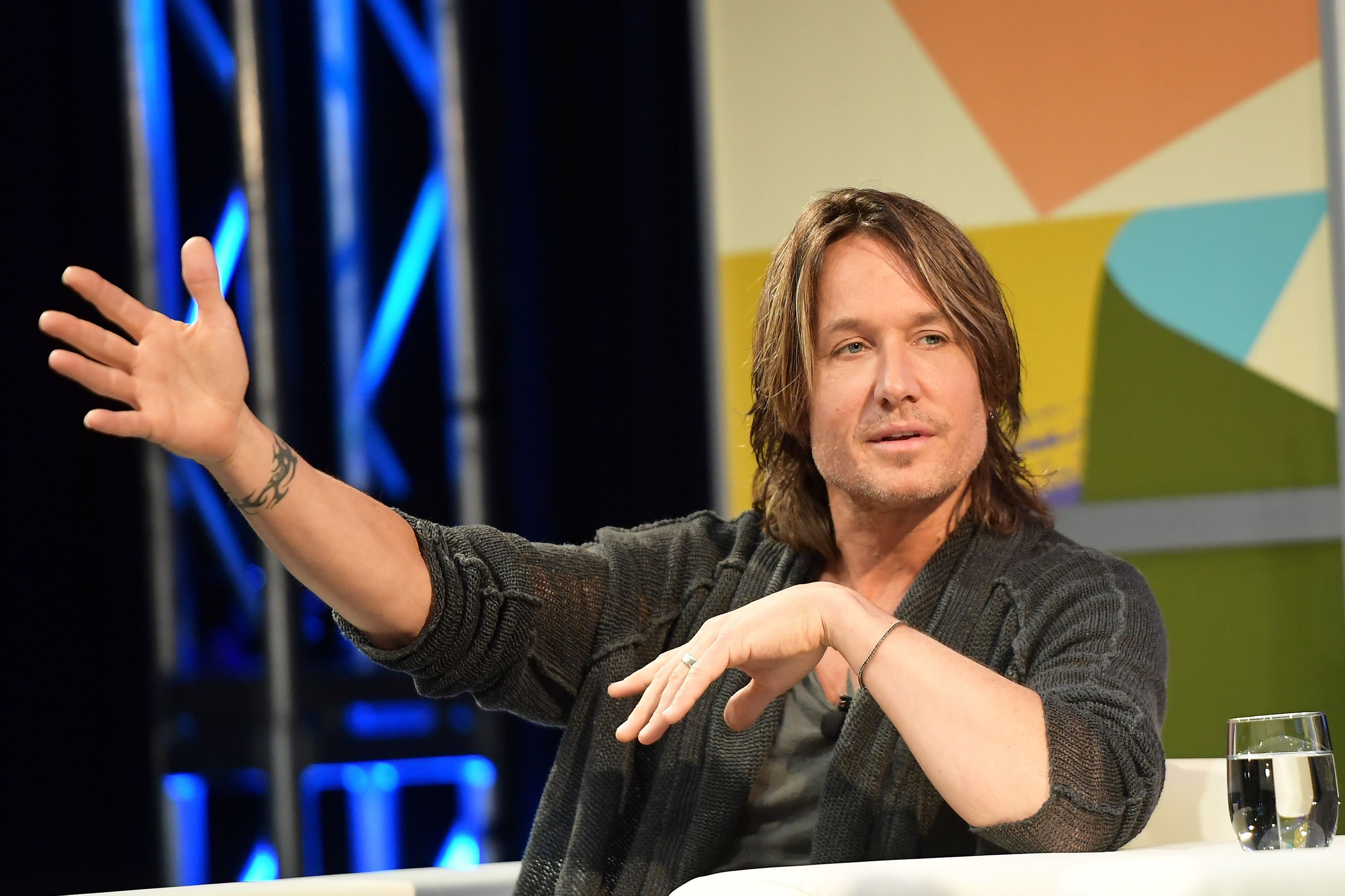 Keith Urban at A Conversation with Keith Urban 2018 SXSW Conference and Festivals at Austin Convention Center on March 16, 2018 | Photo: Getty Images