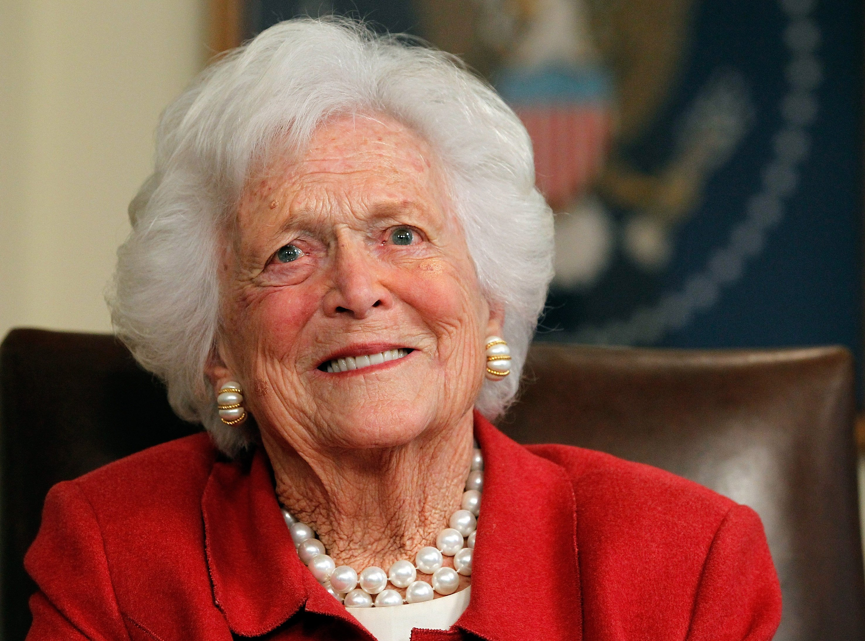 Former First Lady, Barbara Bush   Photo: Getty Images