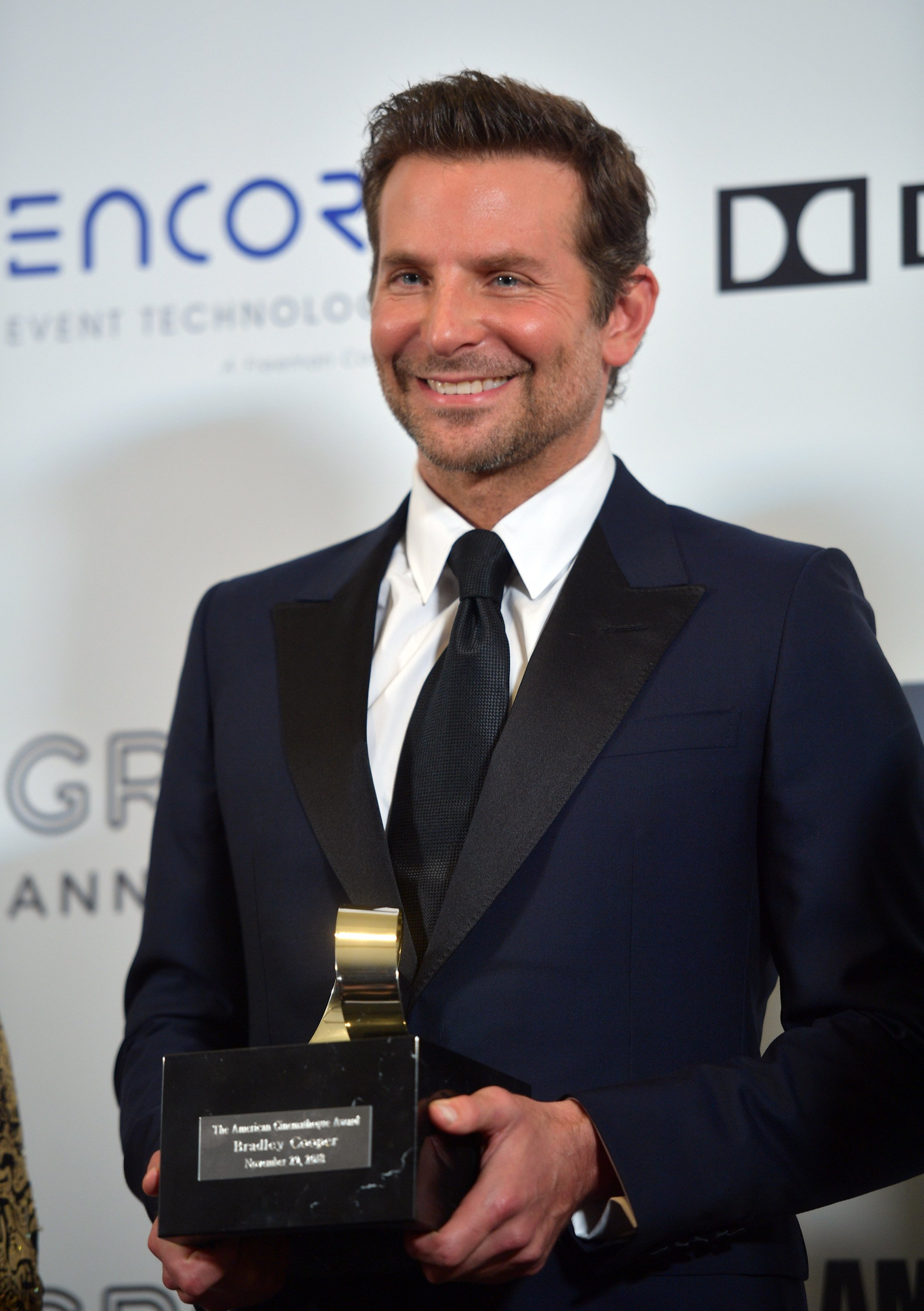Bradley Cooper at the 32nd American Cinematheque Award Presentation Honoring Bradley Cooper on November 29, 2018 in Beverly Hills, California. | Photo: Getty Images