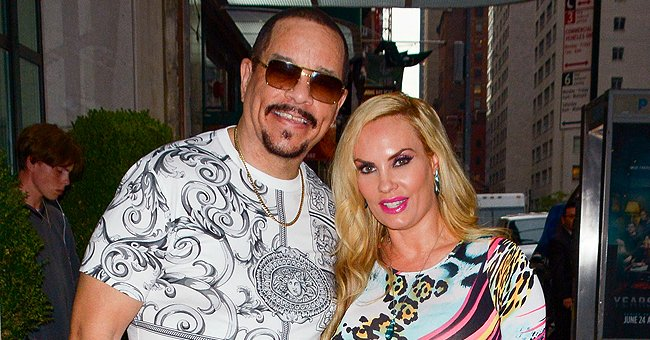 Ice-T's Daughter Chanel and Wife Coco Austin Sunbathe near Pool in Chic Swimsuits