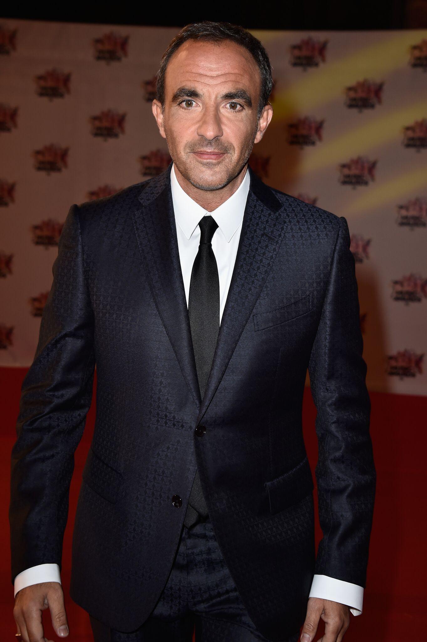 Le présentateur Nikos Aliagas. l Source: Getty Images