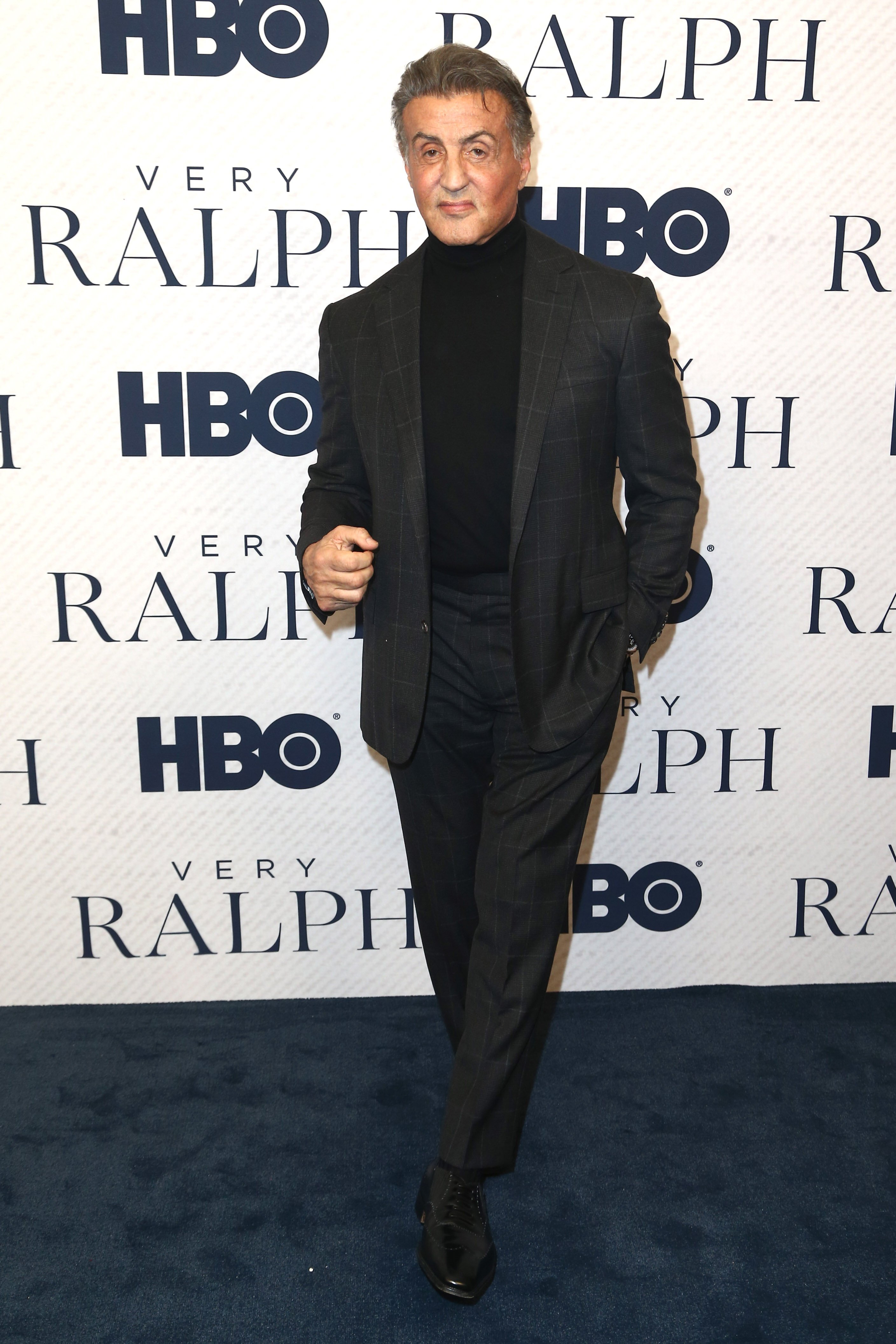 "Sylvester Stallone attends the premiere of ""Very Ralph"" in Beverly Hills California on November 11, 2019 