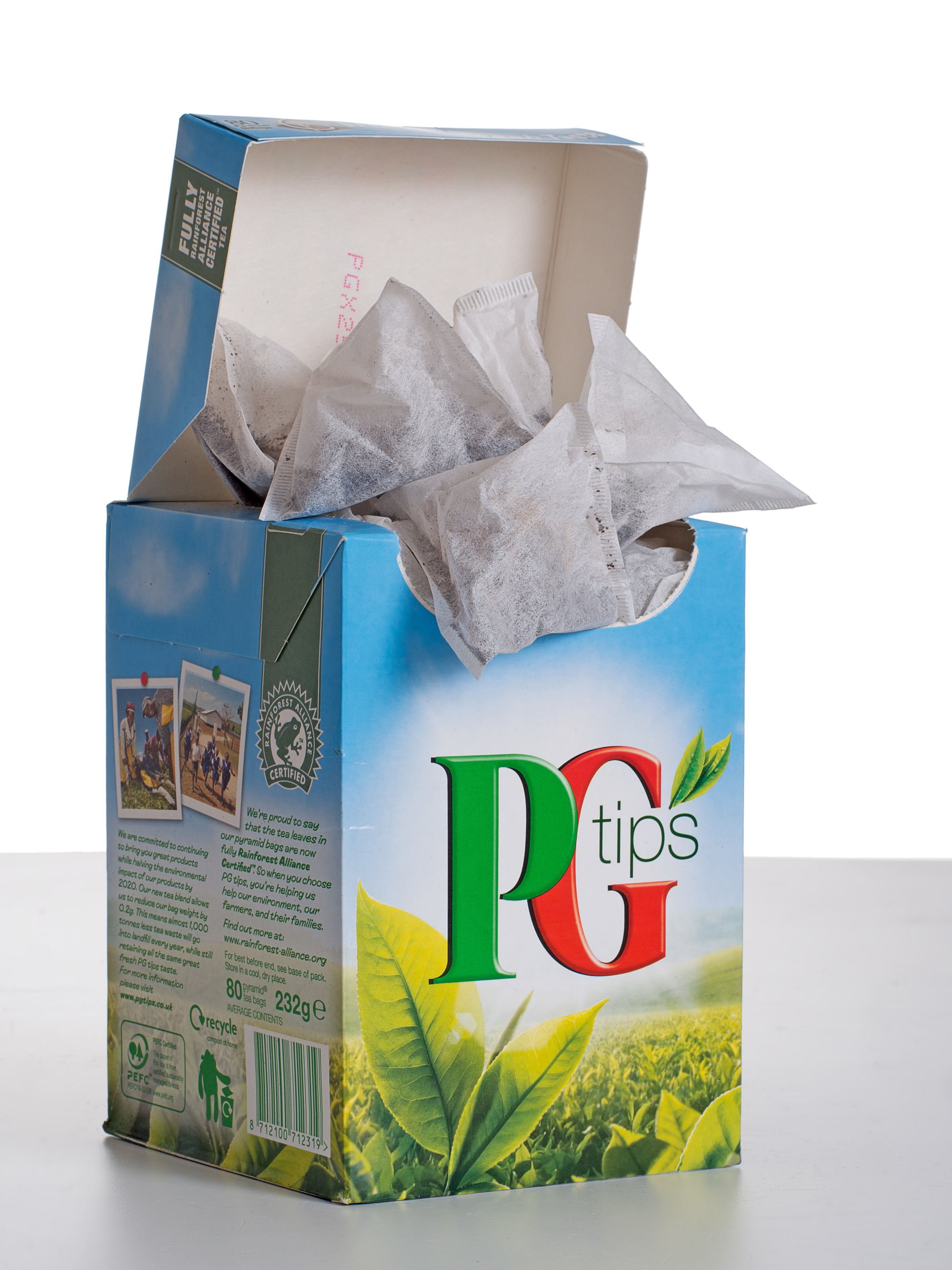A box of PG Tips Tea | Photo; Shutterstock