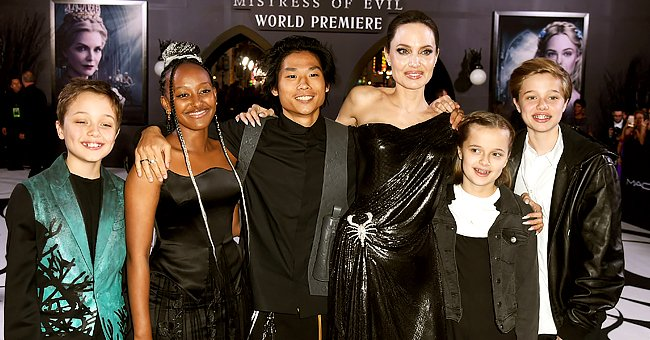 Angelina Jolie Reveals Her Kids Make It a Point to Make Her Cry during Their Mother's Day Surprises