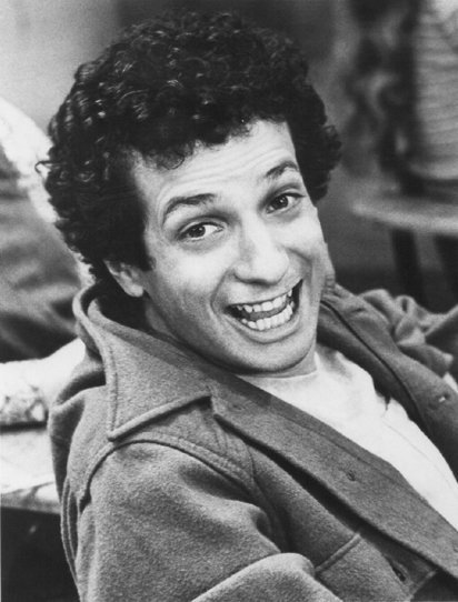 "Ron Palillo promoting his role on the ABC television series ""Welcome Back, Kotter."" 