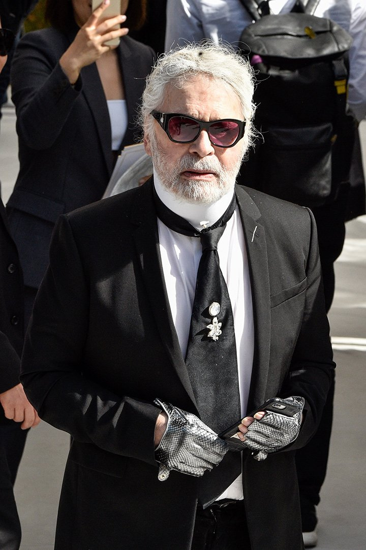 Karl Lagerfeld. I Image: Getty Images.