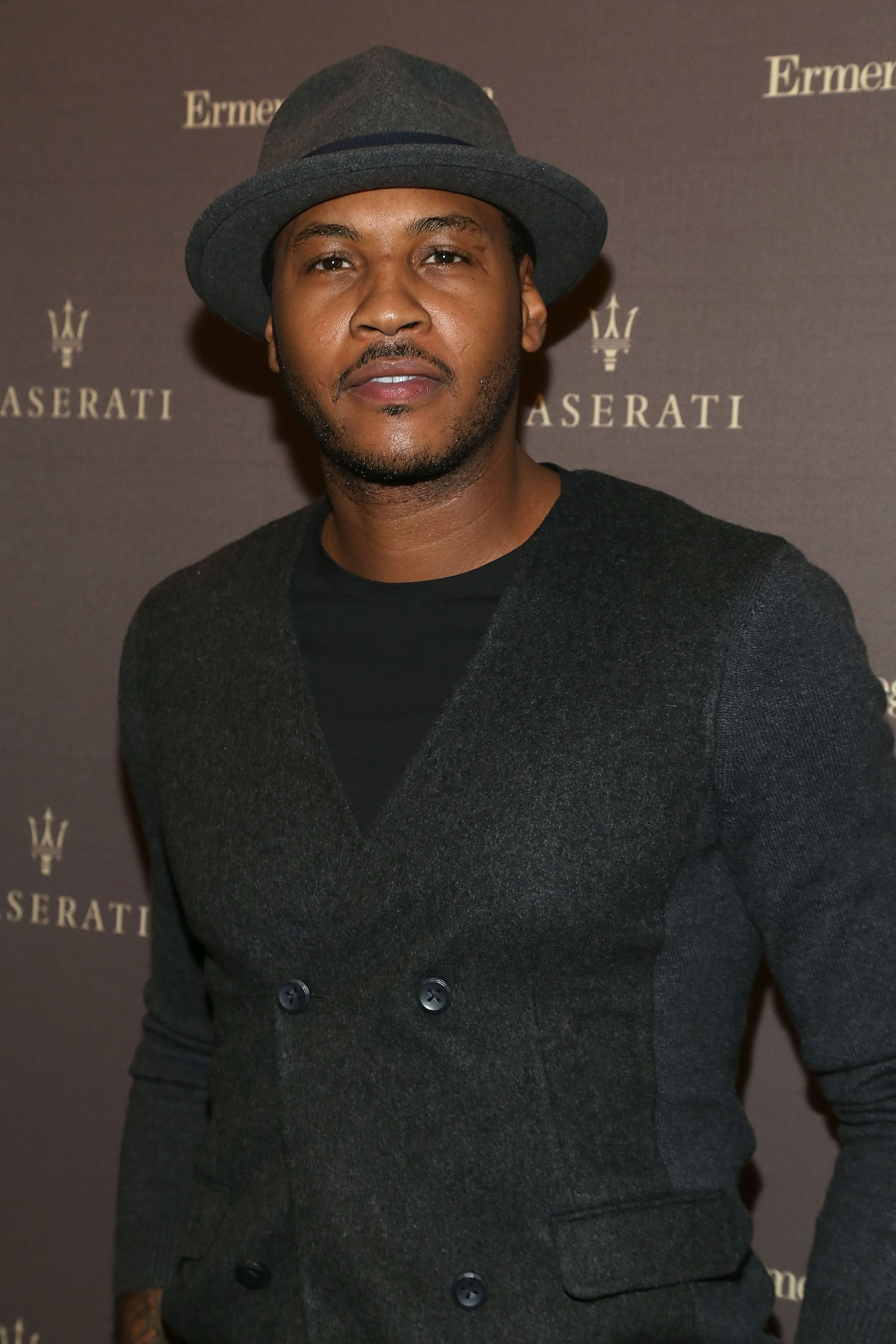 Carmelo Anthony attends a red carpet event | Source: Getty Images/GlobalImagesUkraine