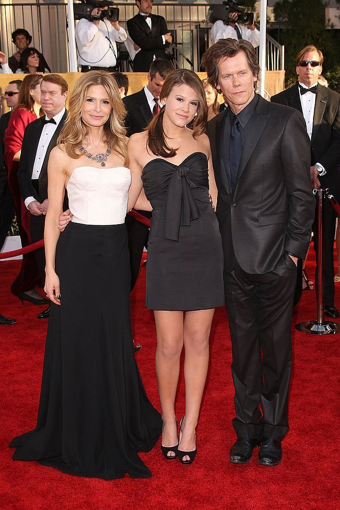 Kyra Sedgwick, Sosie Bacon, and Kevin Bacon at the 15th Annual Screen Actors Guild Awards | Getty Images /  Global Images Ukraine