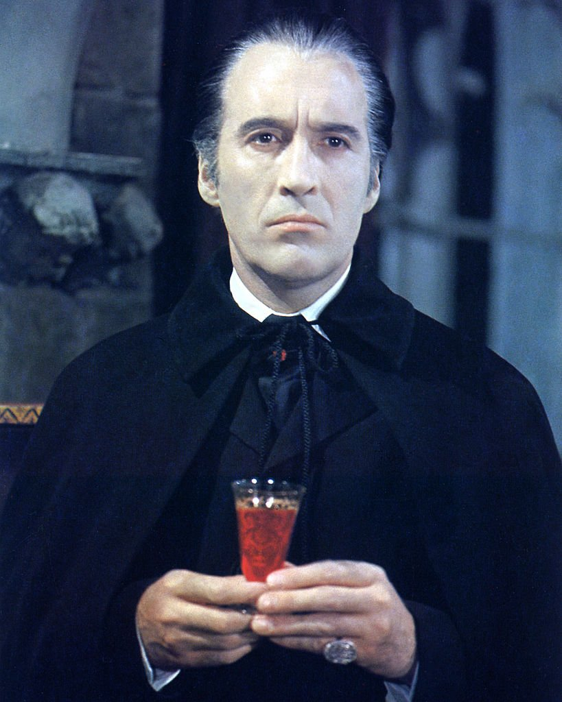 Christopher Lee in a publicity portrait issued for the film, 'Taste the Blood of Dracula', United Kingdom, January 01, 1970 | Photo: Getty Images
