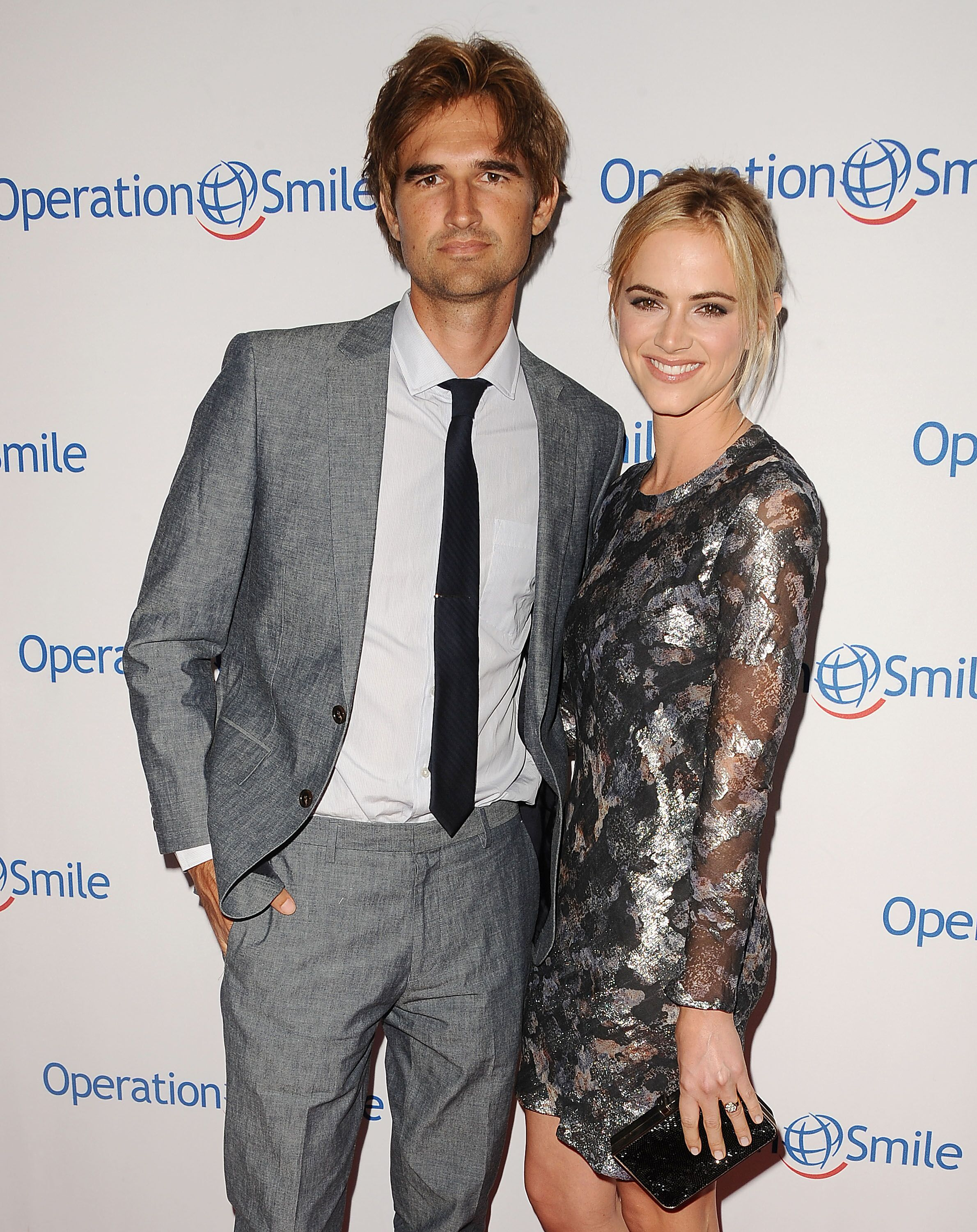 Emily Wickersham and Blake Hanley attend the 2014 Operation Smile gala at the Beverly Wilshire Four Seasons Hotel on September 19, 2014 in Beverly Hills, California. | Source: Getty Images