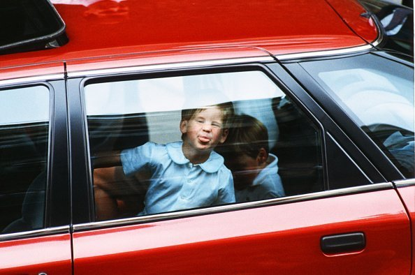Princes William and Harry leaving Portland Hospital | Photo: Getty Images