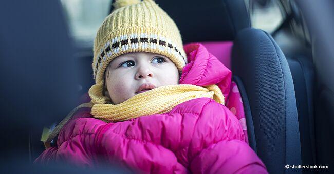 Pourquoi un enfant ne devrait jamais être attaché dans un siège auto avec son blouson