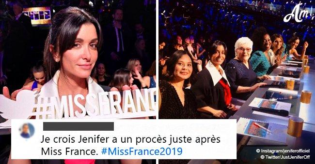 Jenifer est critiquée sur les réseaux sociaux sur le choix de sa robe lors des séléctions de Miss France 2019