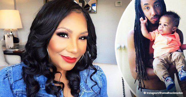 Traci Braxton celebrates son's 23rd birthday with sweet photo of him and her little grandson