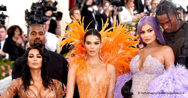 Kardashian-Jenner Family Mocked for Chic Family Photo Taken on the Met Gala Red Carpet