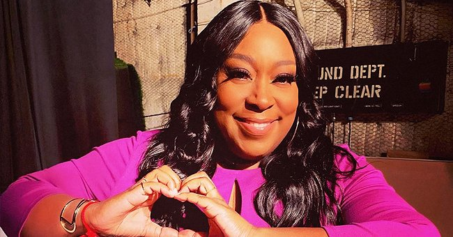 Loni Love from 'The Real' Shares Photo of Herself Dressed up in Black & Reveals She's a UNCF Ambassador