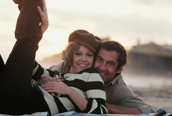 Jane Fonda and ex-husband Roger Vadim on  March 7, 1969 | Photo: Getty Images