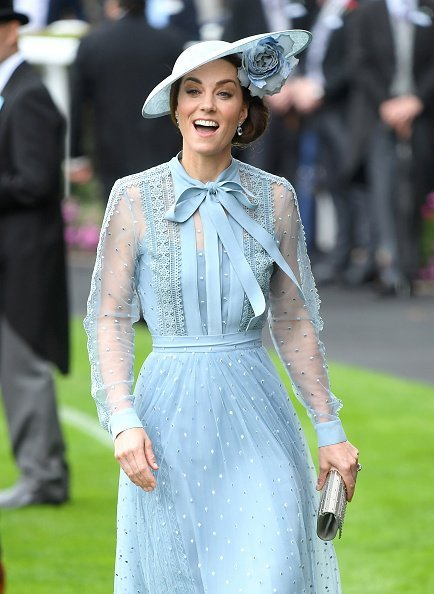 Catherine, Duchess of Cambridge at day one of Royal Ascot at Ascot Racecourse in Ascot, England.  Photo: Getty Images.