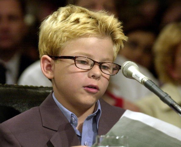 Jonathan Lipnicki at the Senate Governmental Affairs Committee on June 26, 2001 in Washington, DC. | Photo: Getty Images