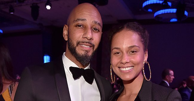 Swizz Beatz Shares Adorable Video of Wife Alicia Keys Doting on Their Sons Egypt and Genesis