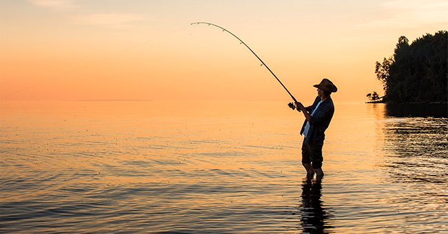 Daily Joke: Man Goes Fishing with His Little Son