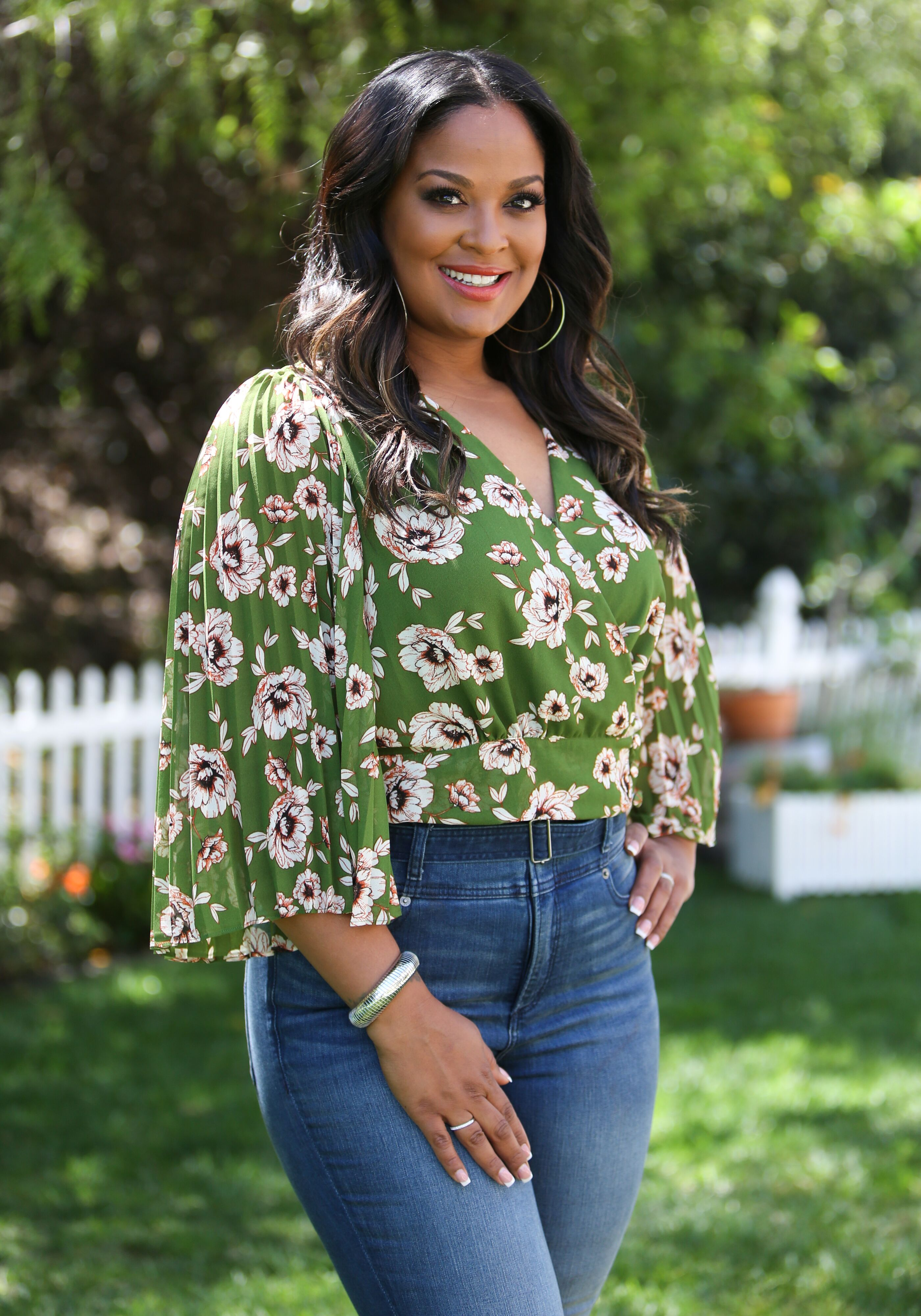"Laila Ali visits Hallmark's ""Home & Family"" at Universal Studios Hollywood on April 23, 2019 in Universal City, California. 