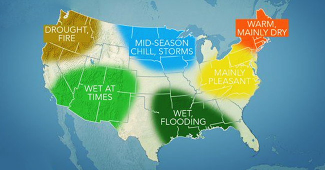 AccuWeather Released Its Fall 2019 Weather Forecast