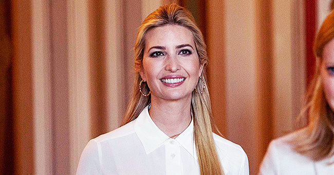 Ivanka Trump Attends a Washington Meeting in a Daringly Sheer Ensemble