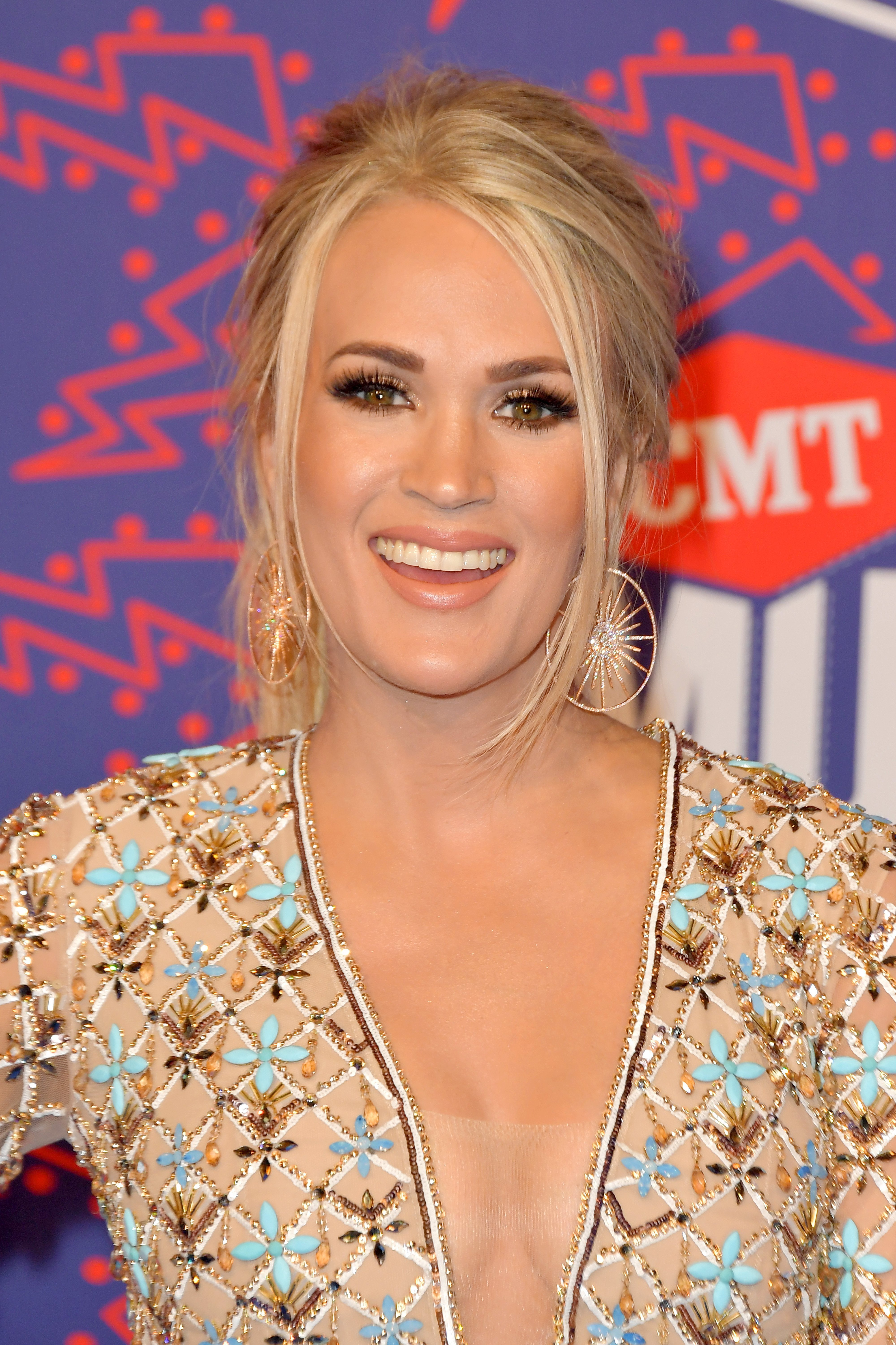 Carrie Underwood at the 2019 CMT Music Awards at Bridgestone Arena on June 05, 2019 in Nashville, Tennessee | Photo: Getty Images