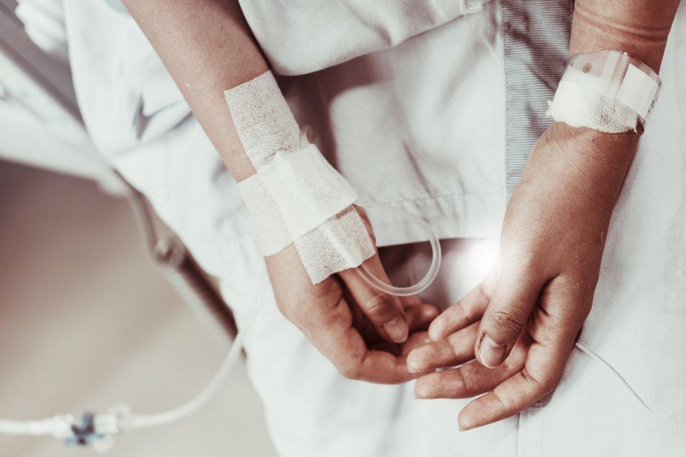 Une femme à l'hôpital. l Source: Shutterstock