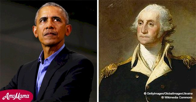 Barack Obama recreates Washington's farewell address for 'Hamilton'