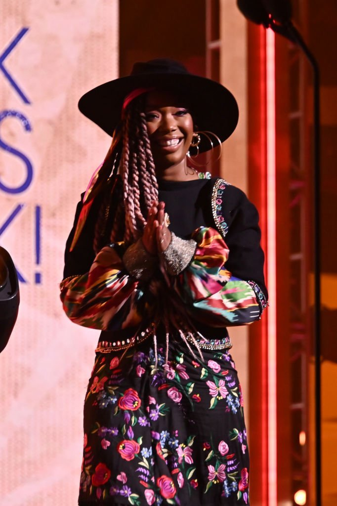 Brandy speaks onstage at Black Girls Rock 2019 Hosted By Niecy Nash at NJPAC | Photo: Getty Images