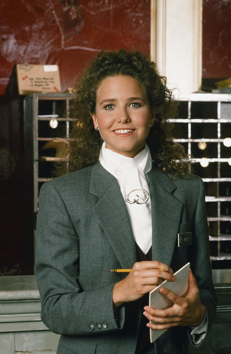 """Molly Hagan during season 1 of """"The Nutt House"""" in April 1989 