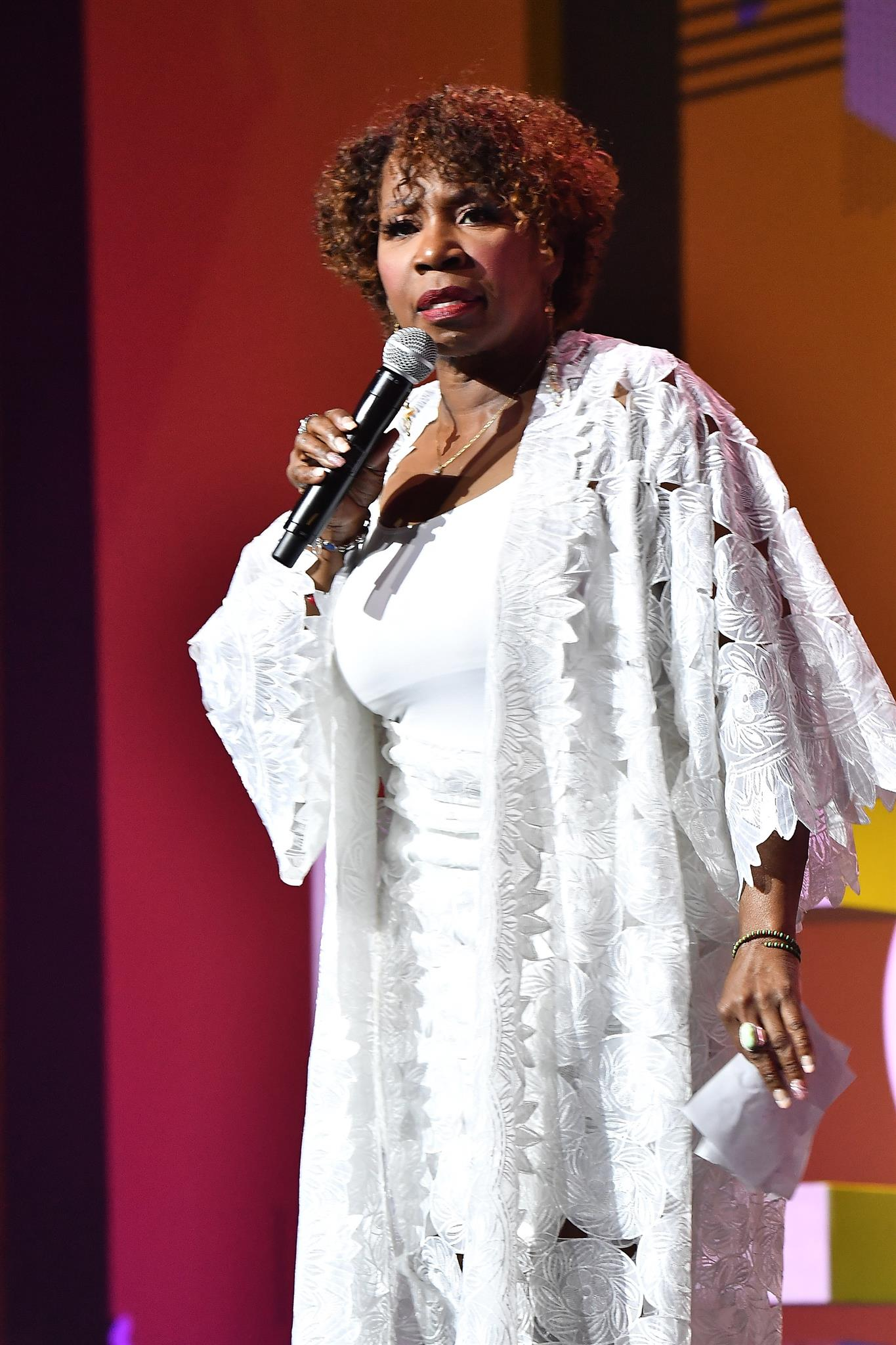 Iyanla Vanzant speaks onstage during the 2018 Essence Festival. | Photo: GettyImages/Global Images of Ukraine