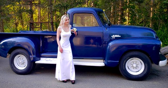 18-Year-Old Student Gives New Life to a 71-Year-Old Truck Her Grandfather Found in a Landfill