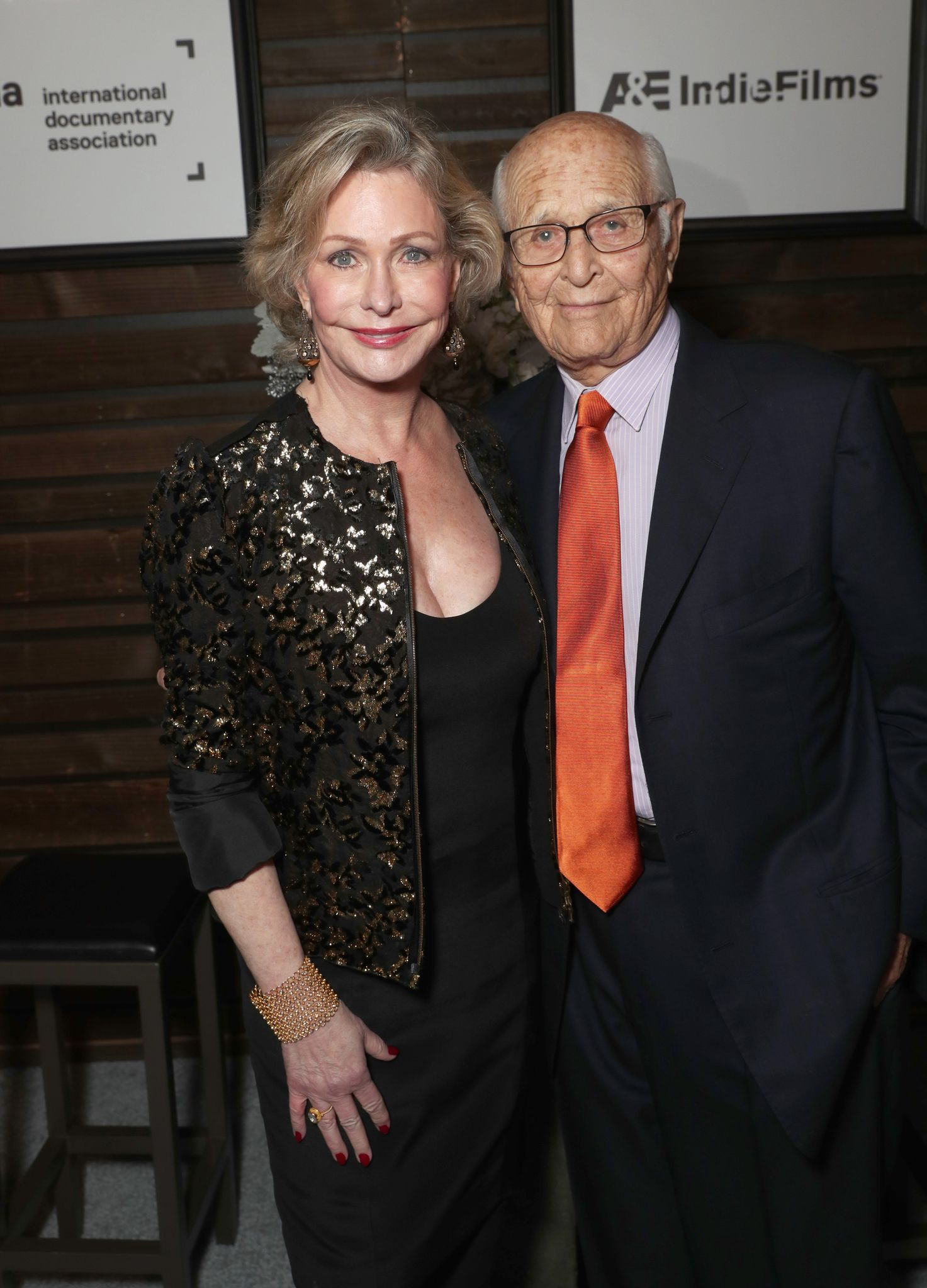 Lyn and Norman Lear at the 32nd Annual IDA Documentary Awards in 2016 in Hollywood, California | Source: Getty Images